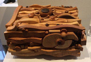 Box Wood Sculpture